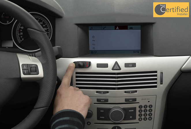 Handsfree phone kits from £140 fitted